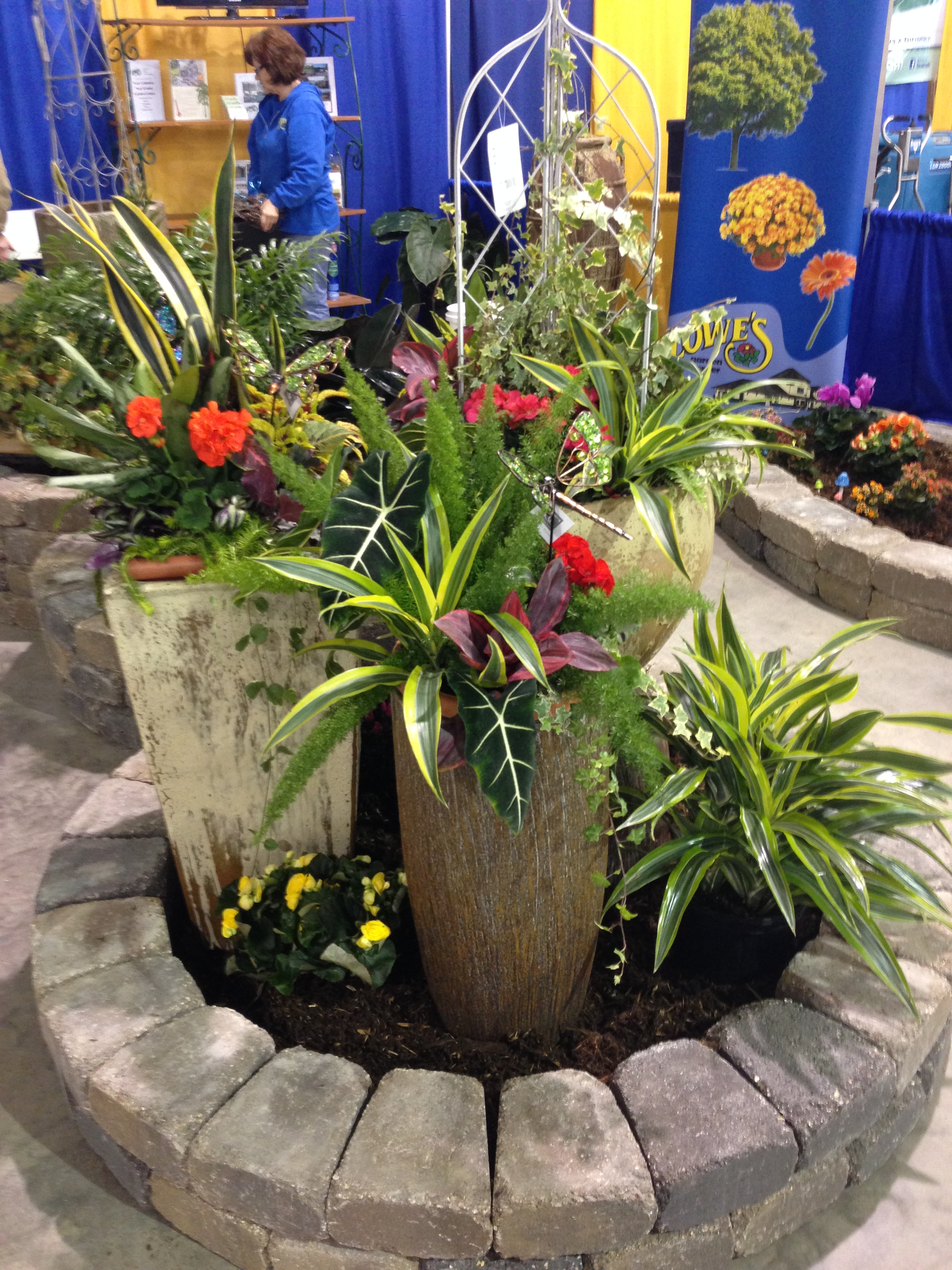 This Is The Loweu0027s Floral And Garden Center Booth At The Minot Association  Of Builders Home Show. It Was A Group Effort By All Departments At Loweu0027s.