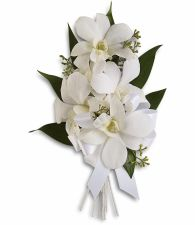 Graceful Orchids Corsage T196-6a
