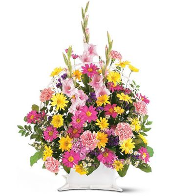 Telefloras Spring Remembrence Basket