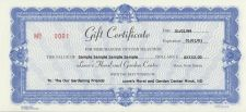 Lowes Gift Certificate