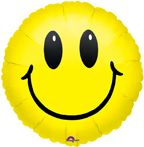 Mylar Balloon Smiley