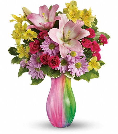 The Grass is Greener Bouquet send Easter flowers in Minot, ND